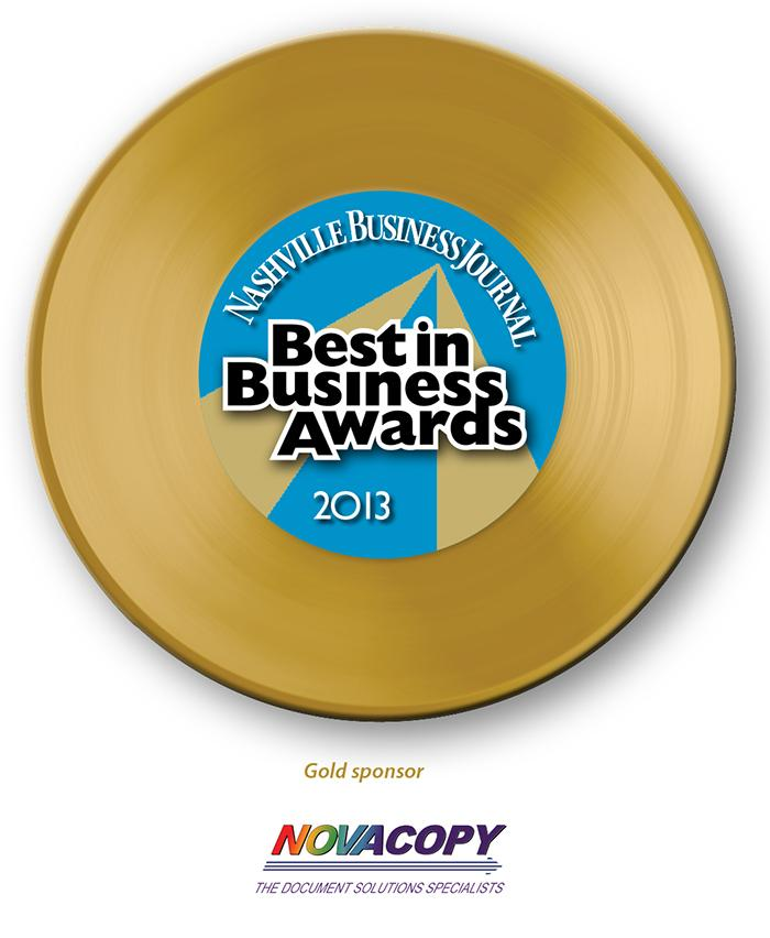 2013 Best in Business Awards