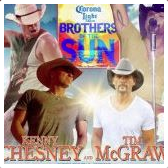 Kenny Chesney & Tim McGrawRank: 2Kenny Chesney & Tim McGraw's Brothers of the Sun Tour came to LP Field on June 23, 2012. Attendance was estimated at 50,000.