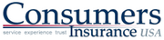 Consumers Insurance USA Inc.2013 rank: 42012 rank: 4Consumers Insurance wrote $17.4 million in property and casualty insurance premiums in Tennessee in 2012. Tennessee premiums represent 40 percent of their total P&C premiums.