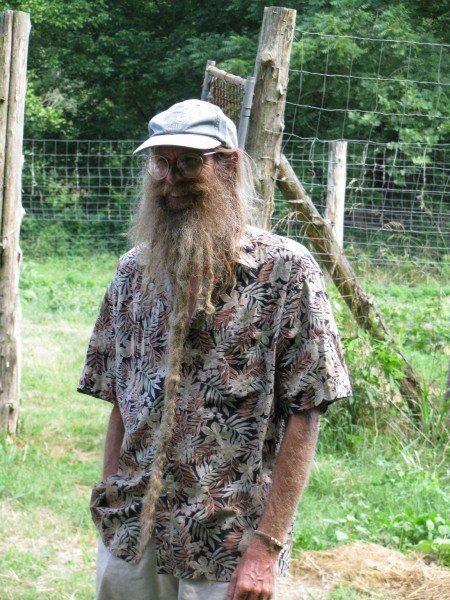"Jeff Poppen, the ""Barefoot Farmer."""