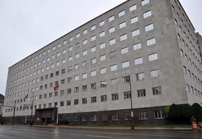 The Estes Kefauver Federal Building.