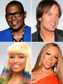 Keith Urban, Nicki Minaj and Mariah Carey will join veteran 'American Idol' judge Randy Jackson when the show returns in January.