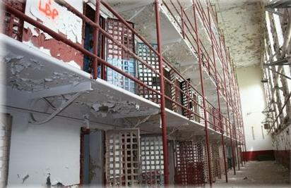 Inside the Tennessee State Prison.