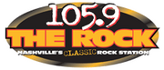 WNRQ-FM (105.9)2012 rank: 42011 rank: 2105.9 The Rock had an average Arbitron share from July 2011-June 2012 of 7.1. Their June 2012 Arbitron share was 7.3. The classic rock station is owned by Clear Channel Communications.