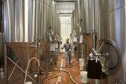 The fermentation tanks at Blackstone Brewing Company's new facility.