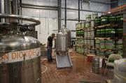 The filtering operation at Blackstone Brewing Company's new facility.