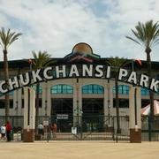 No. 9: Chukchansi Park, Fresno, Calif. 77 percent attendance growth (first three years) Opened: 2002 Background: The Fresno Grizzlies are the AAA minor league baseball affiliate of the San Francisco Giants. The Grizzlies play their home games at Chukchansi Park.
