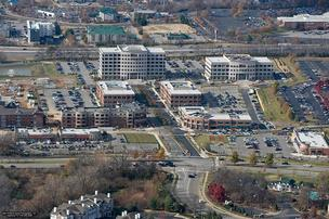 An aerial view of Boyle Investment Co.'s Meridian Cool Springs project.