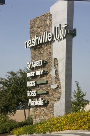 The Nashville West shopping center has sold for $73 million.