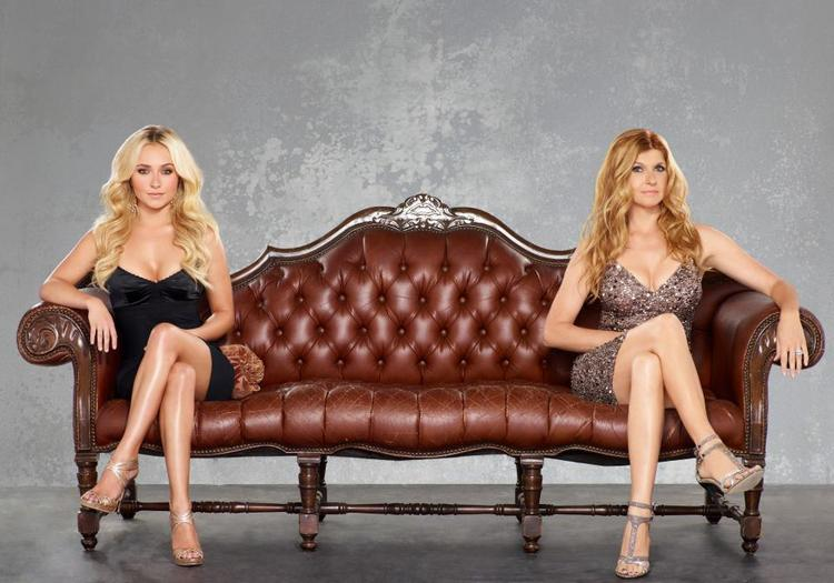 "Hayden Panettiere, left, and Connie Britton star in ""Nashville,"" which premieres tonight on ABC."