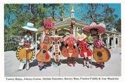 Strolling characters at the park included Yancey Banjo, Johnny Guitar, Delilah Dulcimer, Barney Bass, Frankie Fiddle and Jose Mandolin.