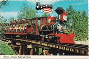 Rachel was one of three engines in use at the park during its heyday.