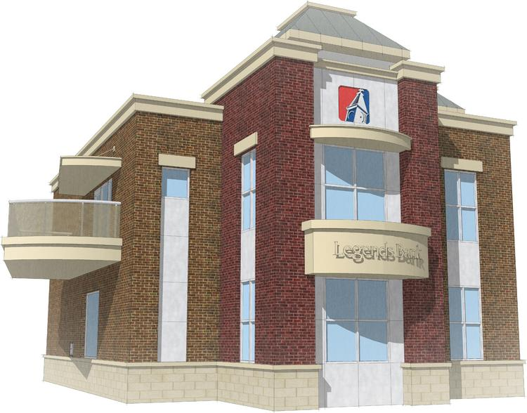 A rendering of Legend's planned branch for Green Hills