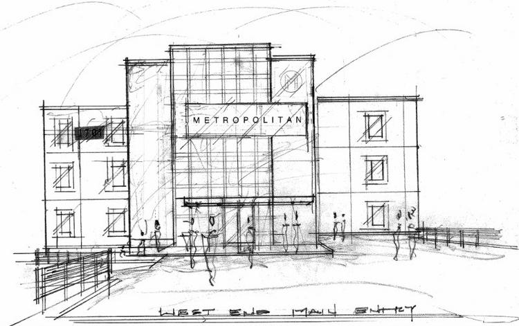 Metropolitan Bank will open its Nashville headquarters on West End Avenue next year.