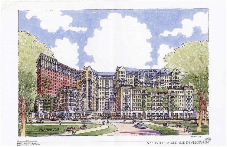 Buckingham Companies is planning a major mixed-use development across from Vanderbilt University.