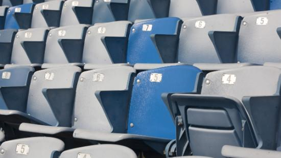 "A new feasibility study identifies three ""exciting options"" for the site of a new stadium for the Nashville Sounds. However, the study rules out the Thermal site, which had been the team's preference. Pictured: Seating at the Sounds' Greer Stadium."