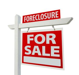 Foreclosure for sale sign
