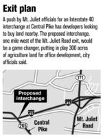 Mt. Juliet hopes to lure offices with I-40 interchange