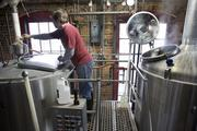 Ken Price at work at Yazoo Brewery.