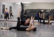 "Sadie Bo Harris and Christopher Stewart rehearse an upcoming performance of ""Carmina Burana"" at the Nashville Ballet."