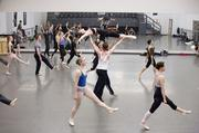 Rehearsals at the Nashville Ballet.