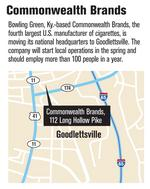 Tobacco firm brings HQ, jobs to Goodlettsville