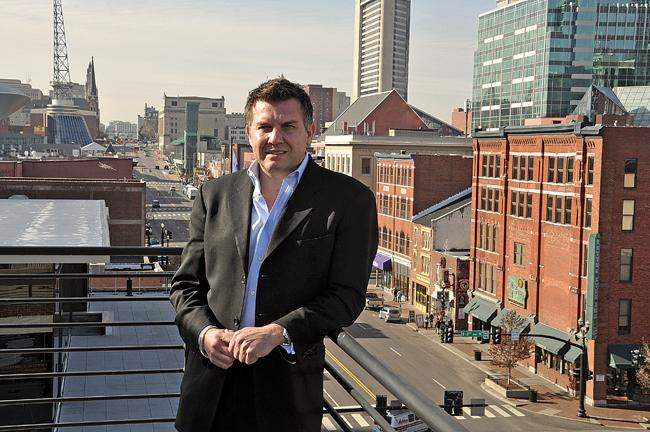 After a strong start in 2010, Michael Burcham wants to take the mission of the Nashville Entrepreneur Center statewide.