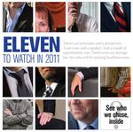 Eleven to watch in 2011