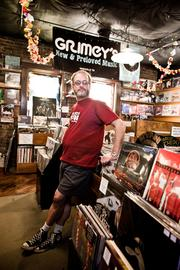 Doyle Davis is co-owner and vinylist at Grimey's New & Preloved Music store.