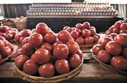 Tomatoes from Barnes Produce.