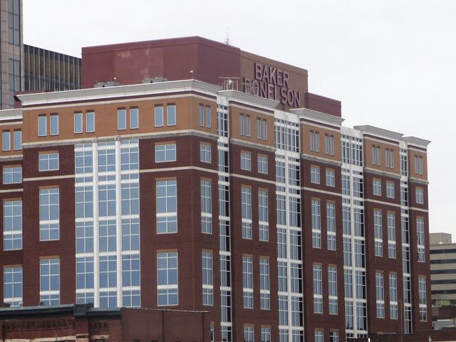 Baker Donelson Center, a 225,000-square-foot Class A office building at 211 Commerce St., is under contract.