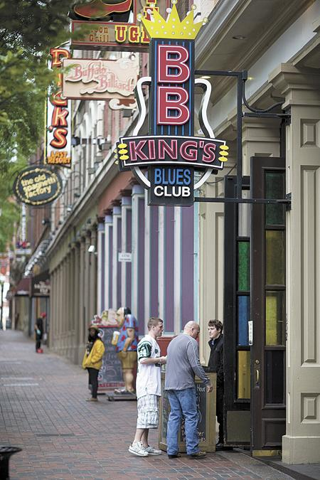 B.B. King's Blues Club on Second Avenue North is one of a number of downtown properties planning renovations.