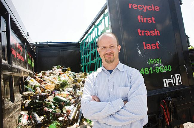 Bobby Bandy is founder and chief manager of EarthSavers, a Nashville recycling company that focuses on sustainability.