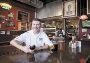 """Carl Meier, founder of The Black Abbey Brewing Co., hopes to be distributing at locations like M.L.Rose in the near future. """"I love to do it, love to brew it, love to sell it. It's fun,"""" said Meier of his appreciation for his craft."""