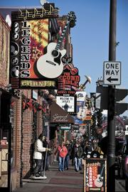 Nashville is pushing for more commercial and residential development south of its downtown entertainment district along Broadway.