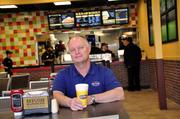 Page became CEO of Back Yard Burgers in August after joining the chain as a consultant in 2008.