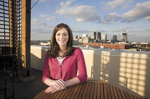 Casey Campbell helps find prospective clients for Habitat for Humanity of Greater Nashville, recruiting and selecting applicants and providing them with education to help them manage their money and become successful homeowners. It's a post she's held for five years, and in 2011, her efforts helped land the nonprofit a 25 percent increase in state funding.