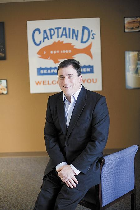 Phil Greifeld is CEO and president of Captain D's Seafood Kitchen.