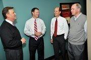 Larry Kloess, from left, Stuart McWhorter, Matt King and Clayton McWhorter