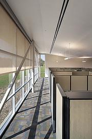 The Upper Cumberland Regional Health Facility relies on an abundance of natural light to cut energy costs.