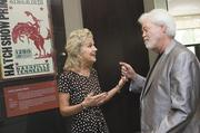 Lisa Harless talks with Merrill Osmond of The Osmonds.