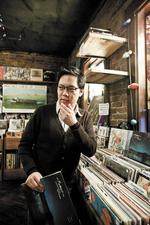 Stephen Hau: Record store clerk