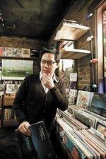 Stephen Hau: Record store clerk