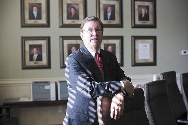 Richard Herrington is president of Franklin Synergy Bank.