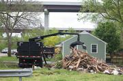 Demolition began this month on the first five flood-damaged homes in the Hazard Mitigation Home Buyout Program on Delray Drive in West Nashville. So far, Metro government has closed on about 60 homes eligible for a buyout — out of 300 eligible properties.