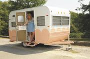 Kaelah Flynn launched Honeybean Mobile Boutique last fall in a revamped camper.