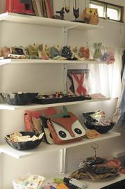 Honeybean Mobile specializes in handmade merchandise from independent designers.