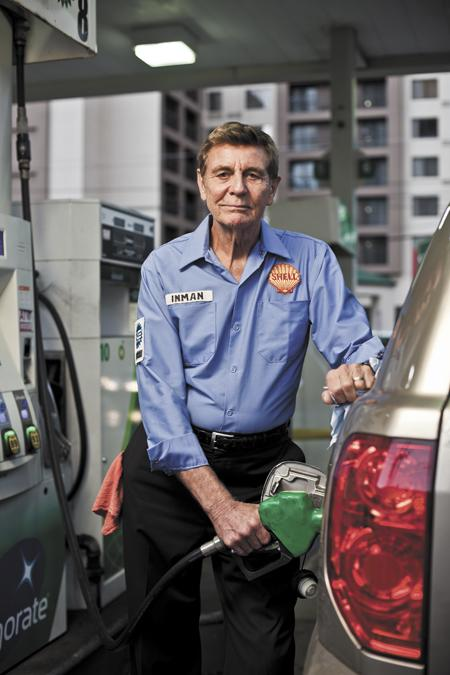 firstbank chairman gordon inman worked his first job at a full service shell station pumping
