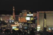Las Vegas was ranked the top American travel destinations in a survey by Minnesota-based Travel Leaders.
