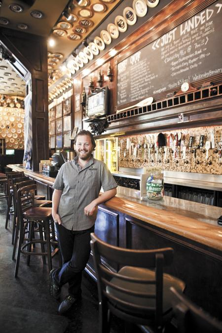 Matt Leff left his information technology career six months ago to focus his efforts on beer, organizing and promoting beer festivals and events through his company Rhizome Productions.